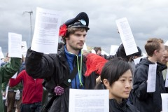 Heathrow 2007; Demonstrators 'armed with peer reviewed science'.