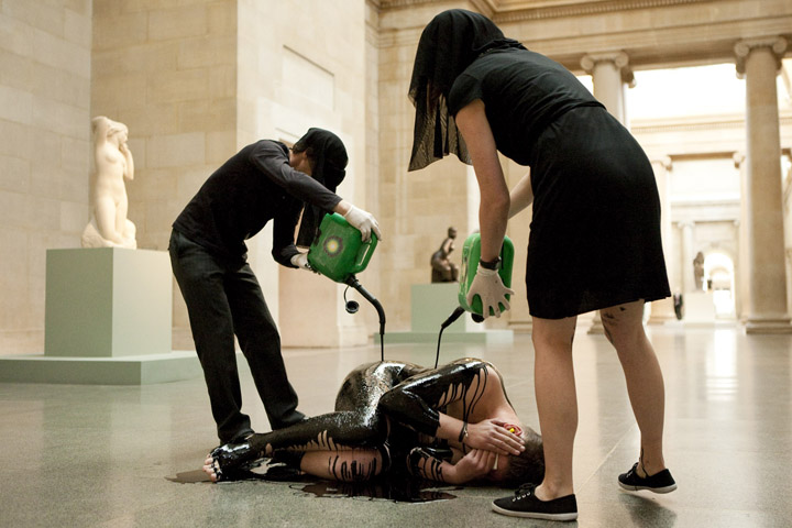 Liberate Tate at Tate Britain – Human Cost