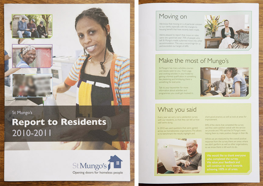 St Mungos Report to Residents 2010-11