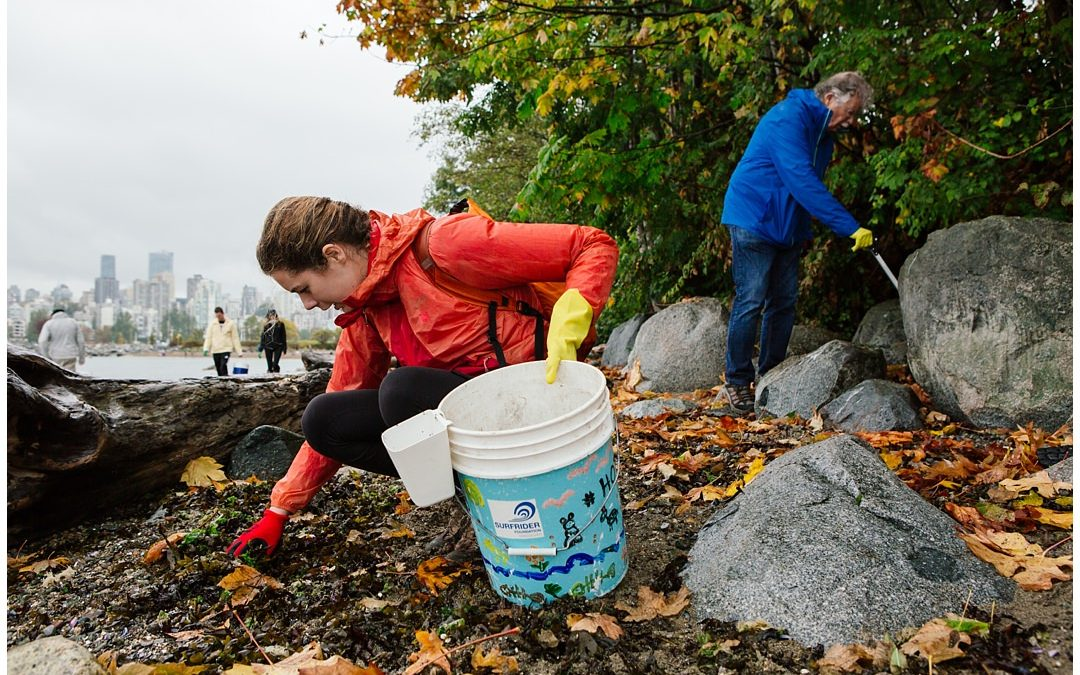 Kitsilano Beach Clean Up & Trash Audit