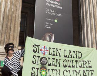 Stolen Land, Stolen Culture, Stolen Climate.